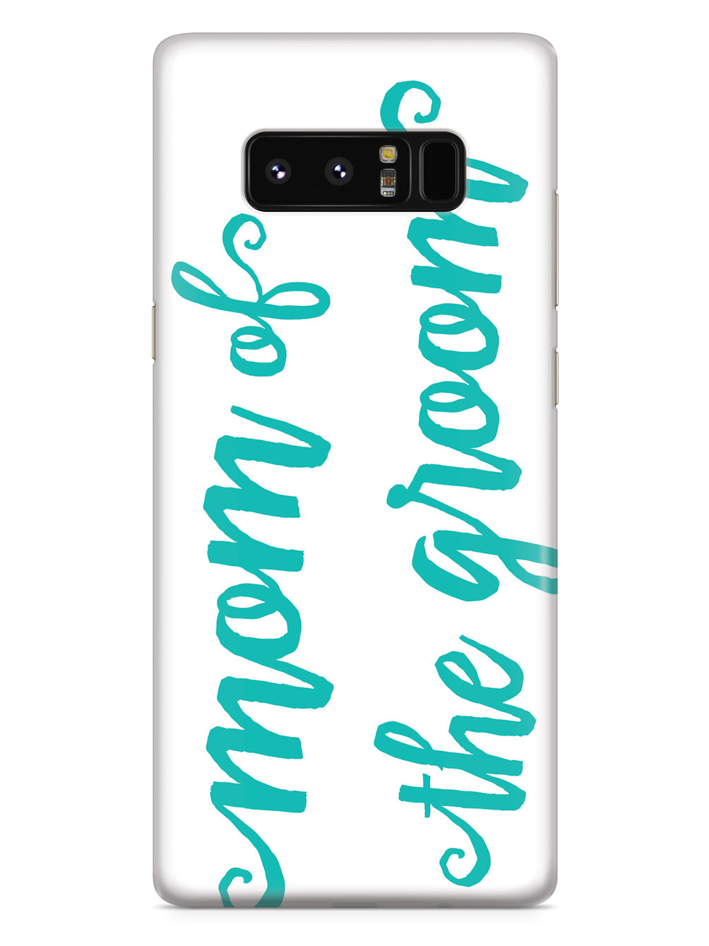 Mom of the Groom - Teal Case