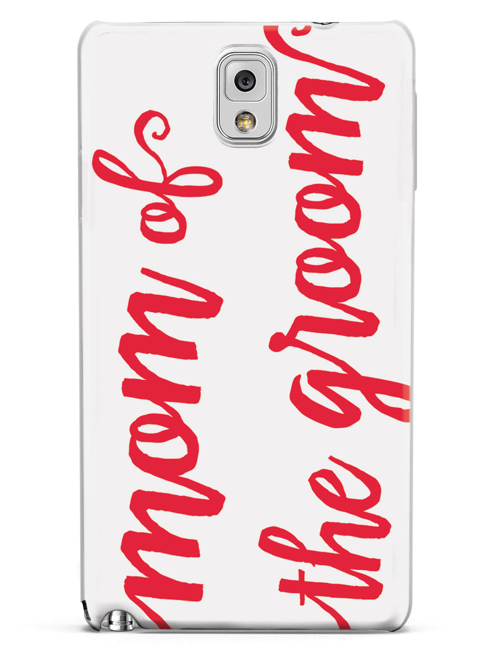 Mom of the Groom - Red Case