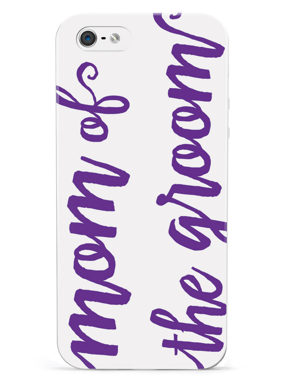 Mom of the Groom - Royal Purple Case