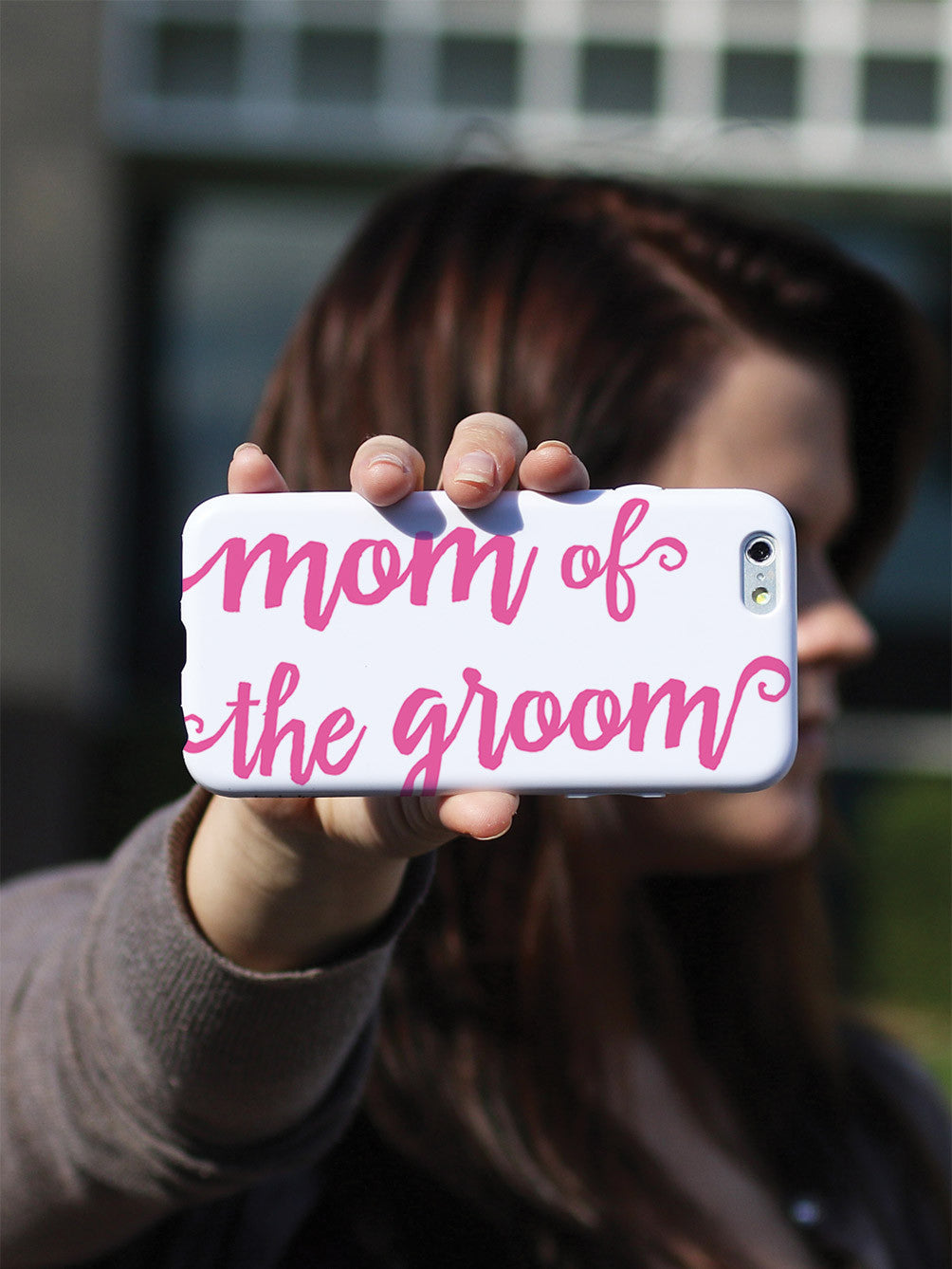 Mom of the Groom - Pink Case