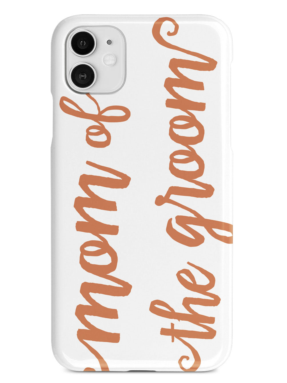 Mom of the Groom - Orange Case