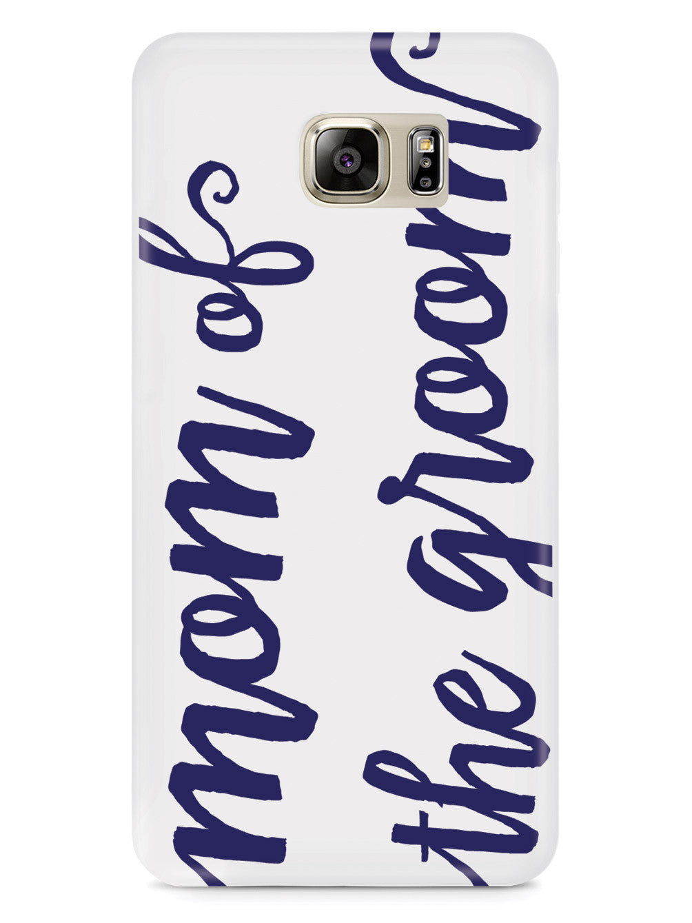 Mom of the Groom - Navy Blue Case