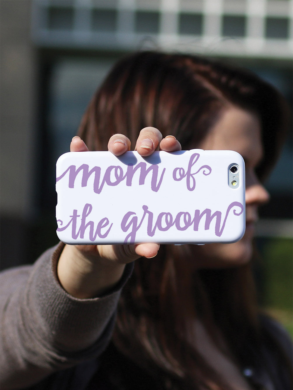 Mom of the Groom - Lavender Case