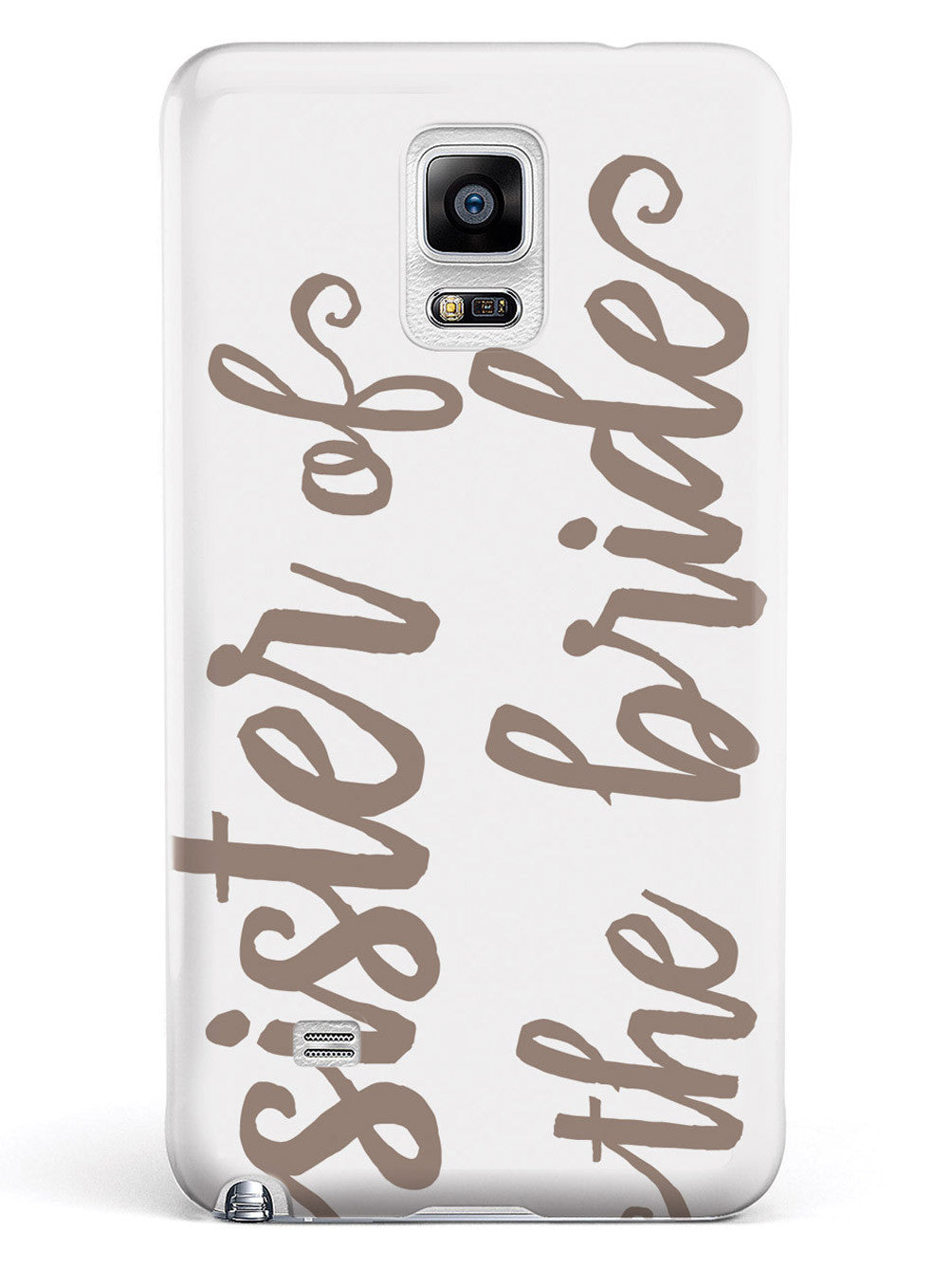 Sister of the Bride - Brown Neutral Case