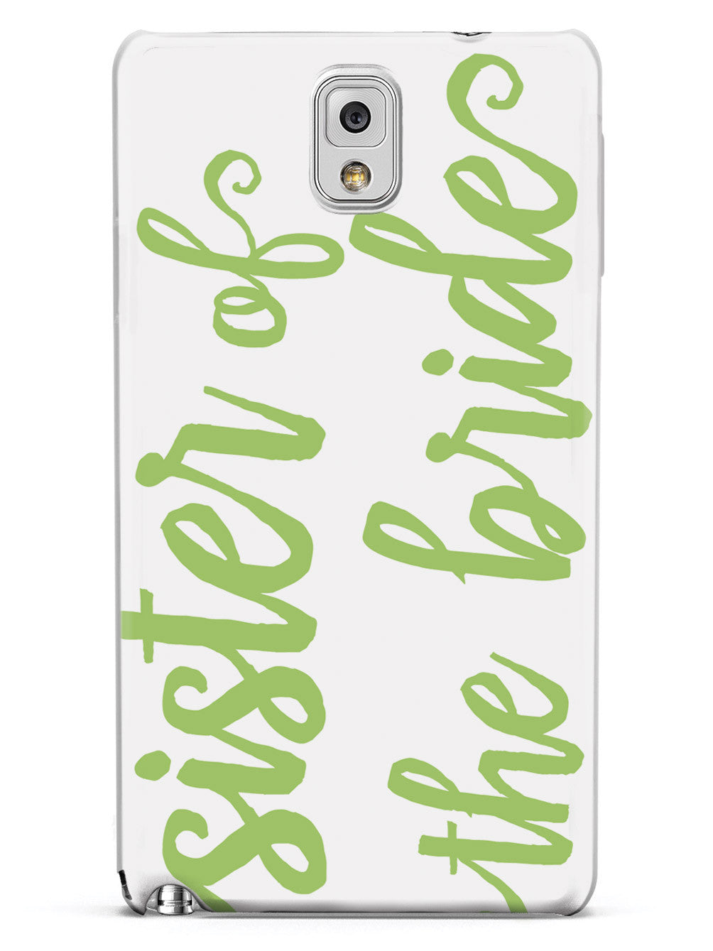 Sister of the Bride - Sage Green Case