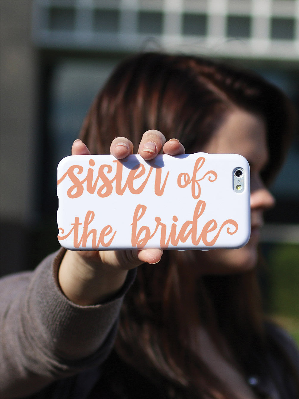 Sister of the Bride - Peach Case