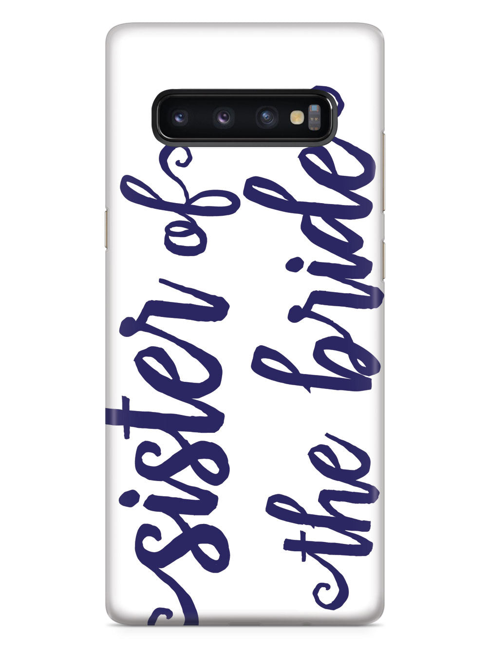 Sister of the Bride - Navy Blue Case