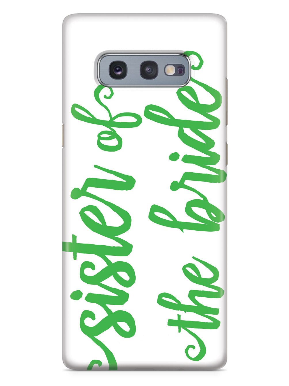 Sister of the Bride - Emerald Green Case