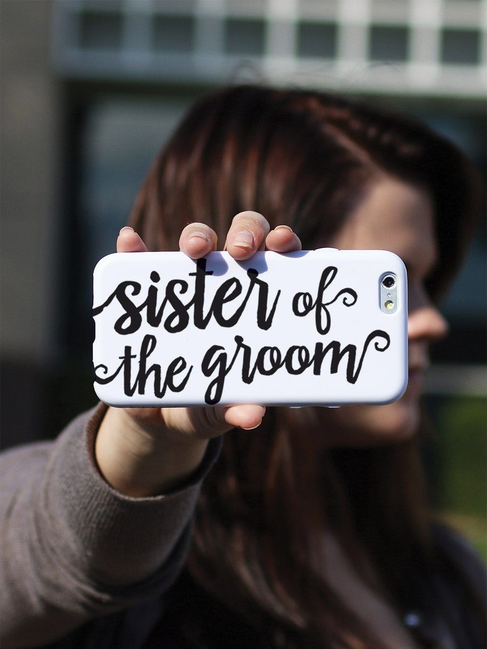 Sister of the Groom - Black Case