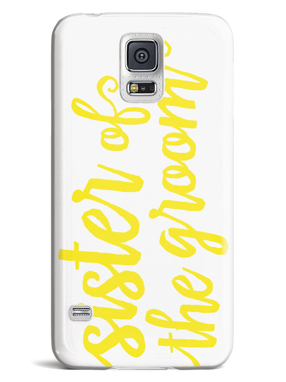 Sister of the Groom - Yellow Case