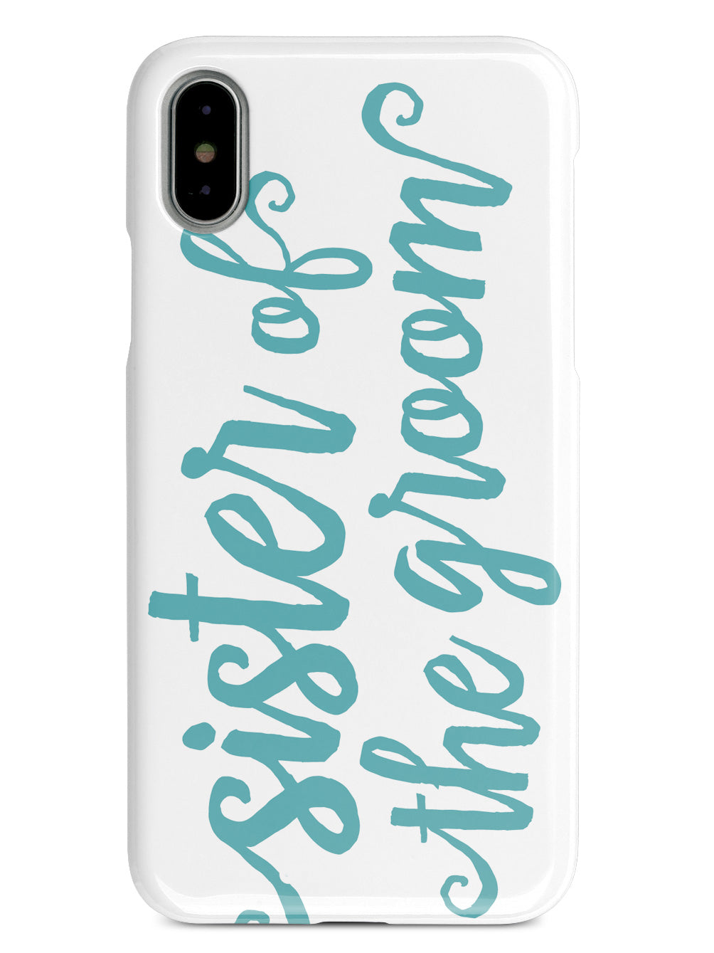 Sister of the Groom - Teal Case