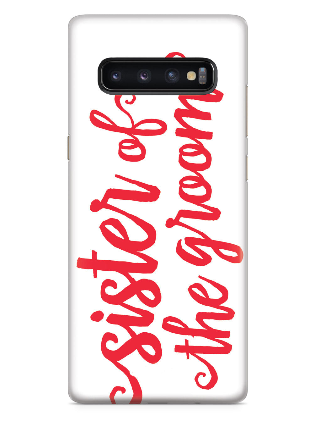 Sister of the Groom - Red Case