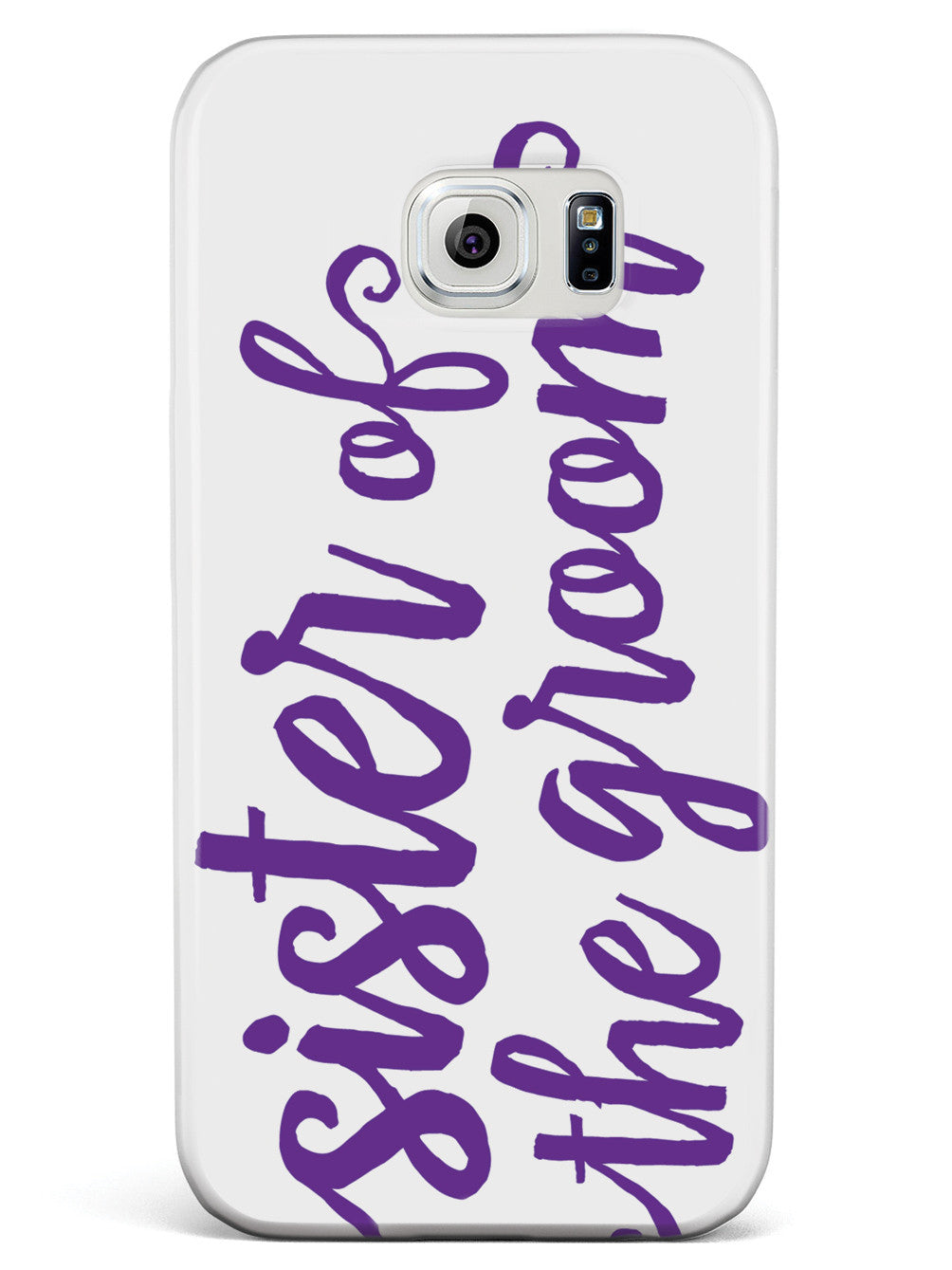 Sister of the Groom - Royal Purple Case
