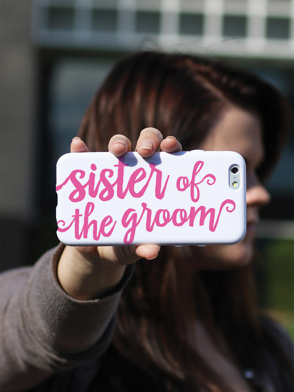 Sister of the Groom - Pink Case
