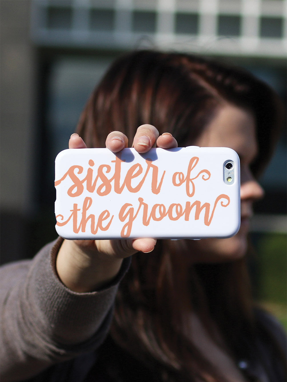 Sister of the Groom - Peach Case