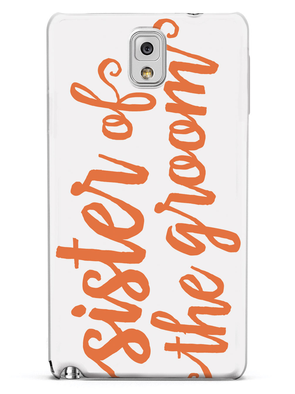 Sister of the Groom - Orange Case