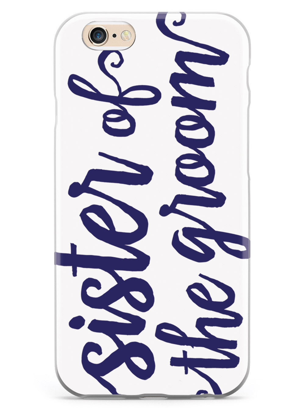 Sister of the Groom - Navy Blue Case