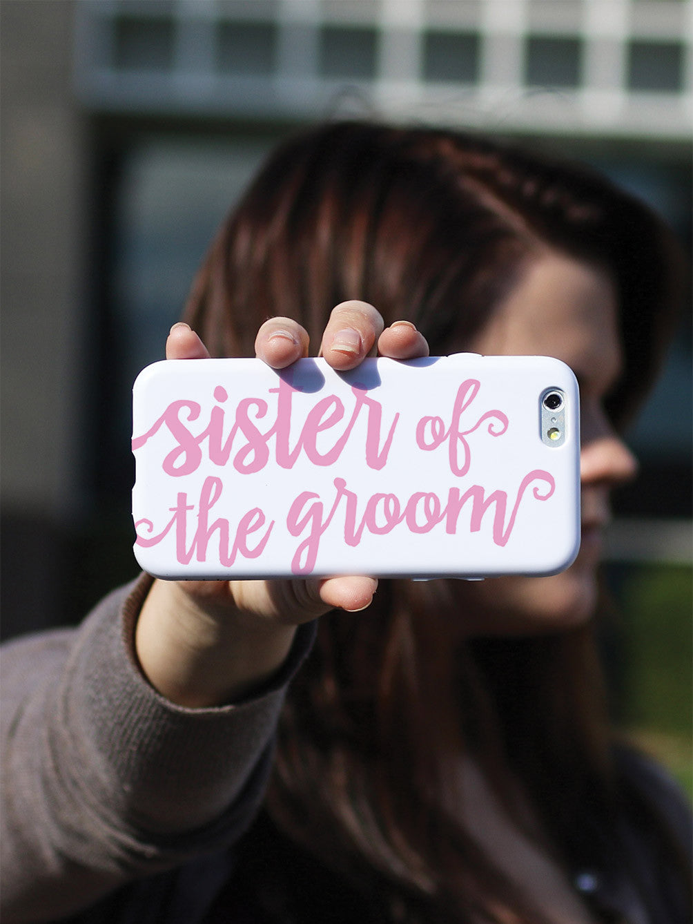 Sister of the Groom - Light Pink Case