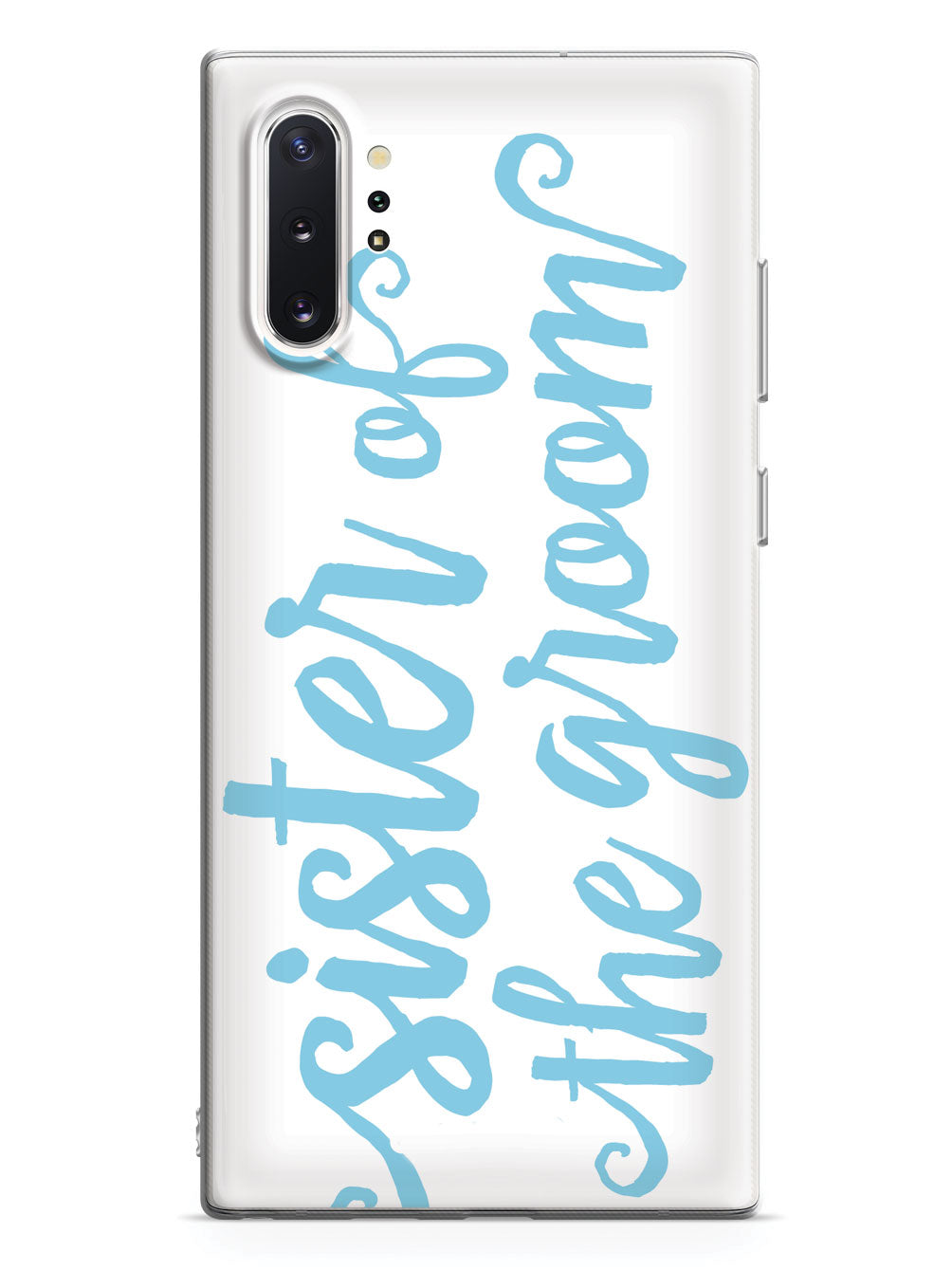 Sister of the Groom - Light Blue Case