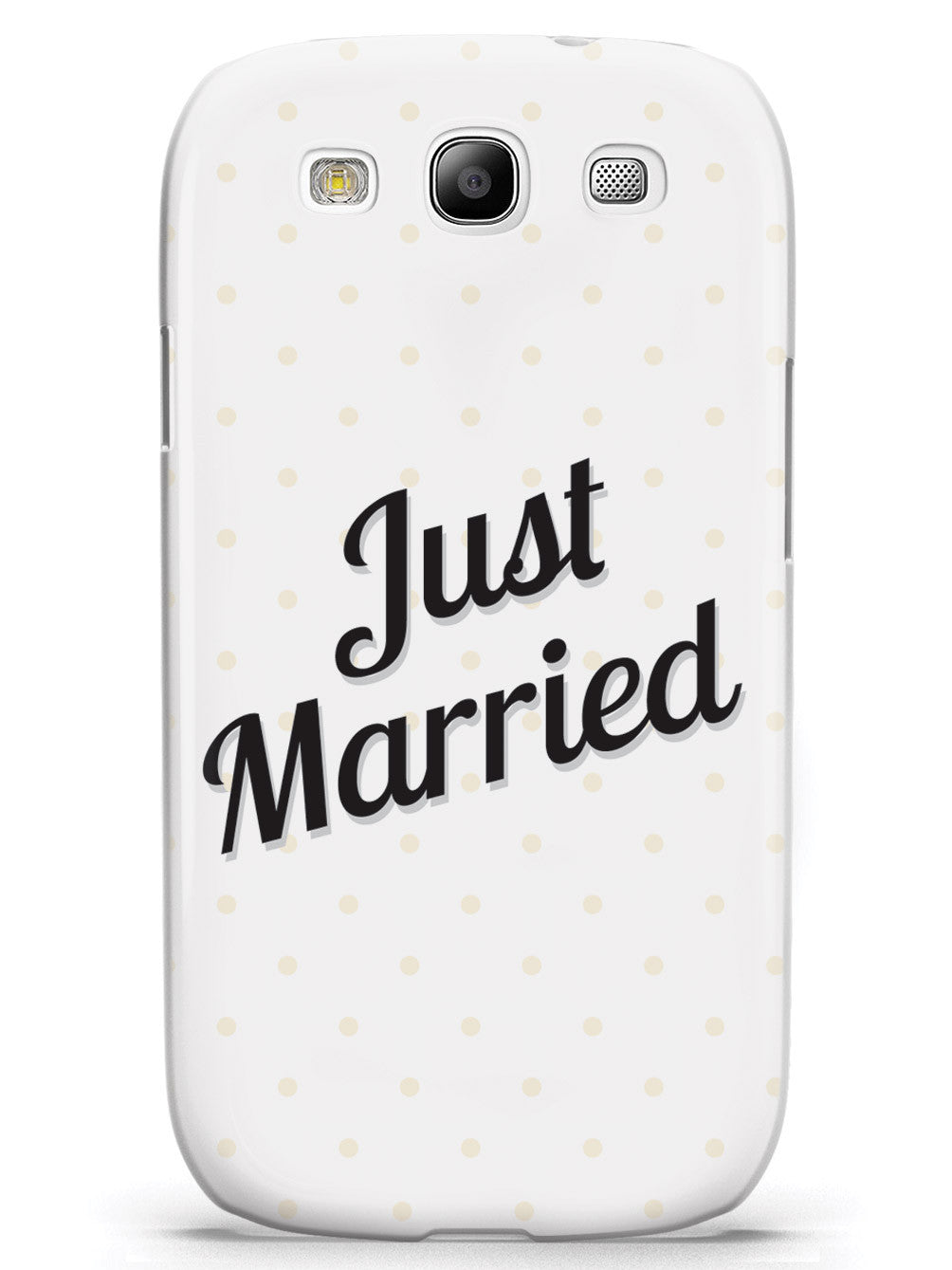 Just Married - Polka Dots Case