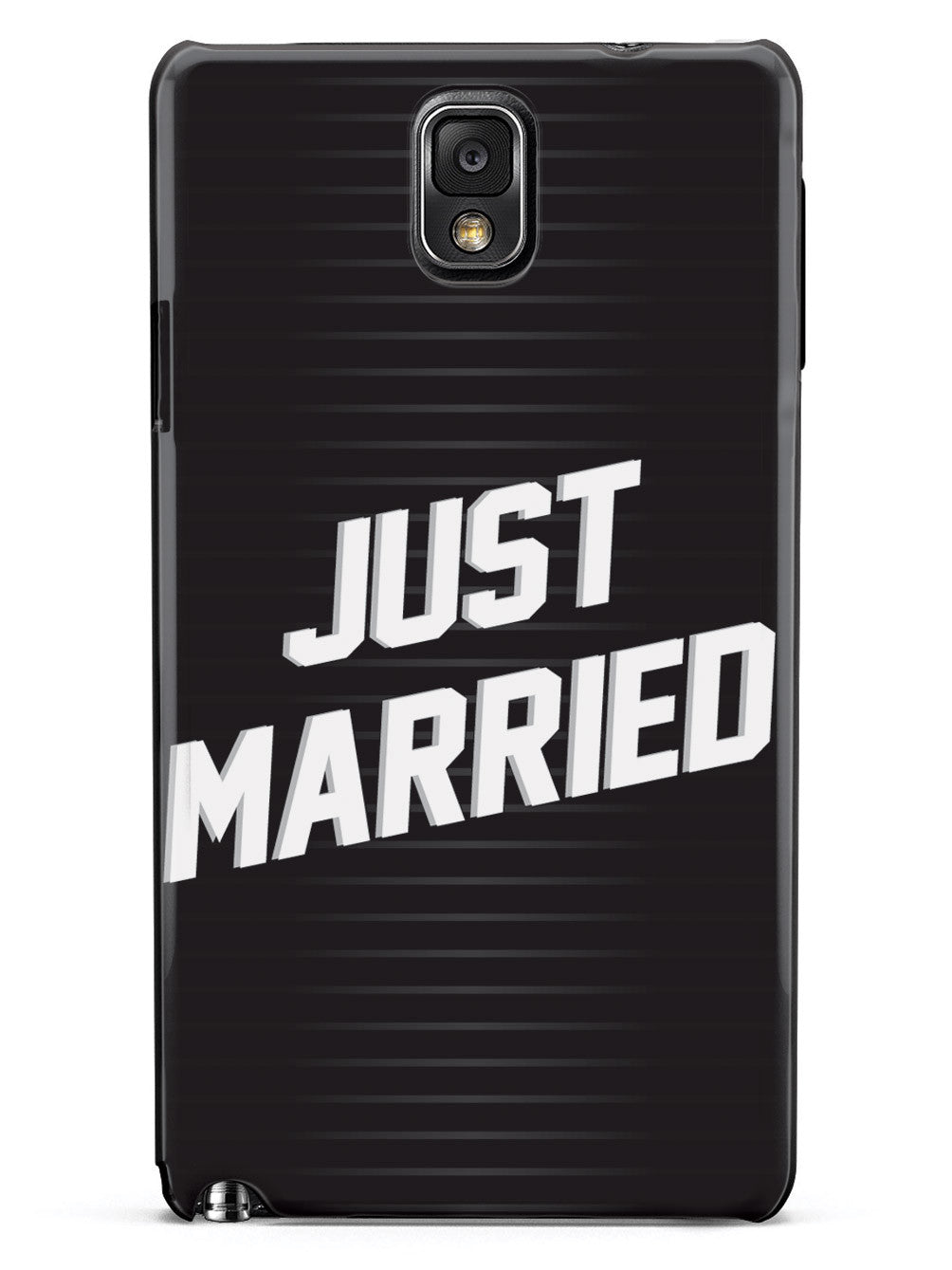 Just Married - Stripes Case