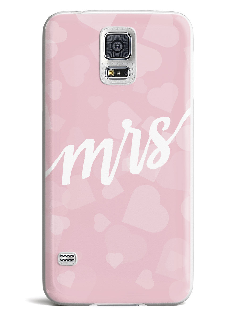 Mrs. - Heart Bokeh Case
