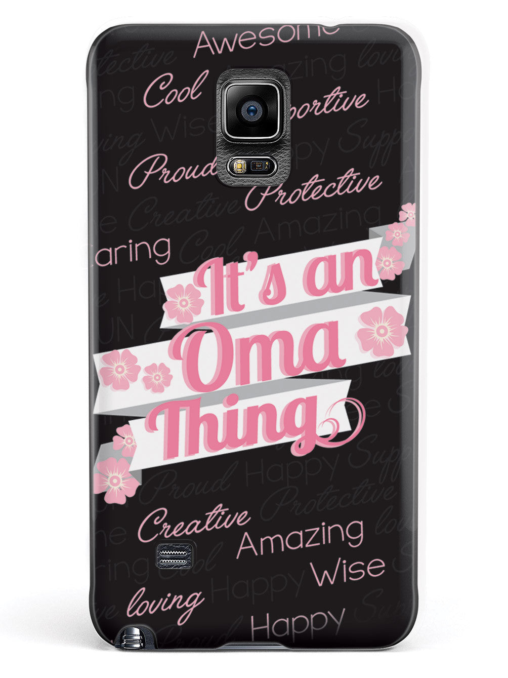 It's an Oma Thing (Pink) Case