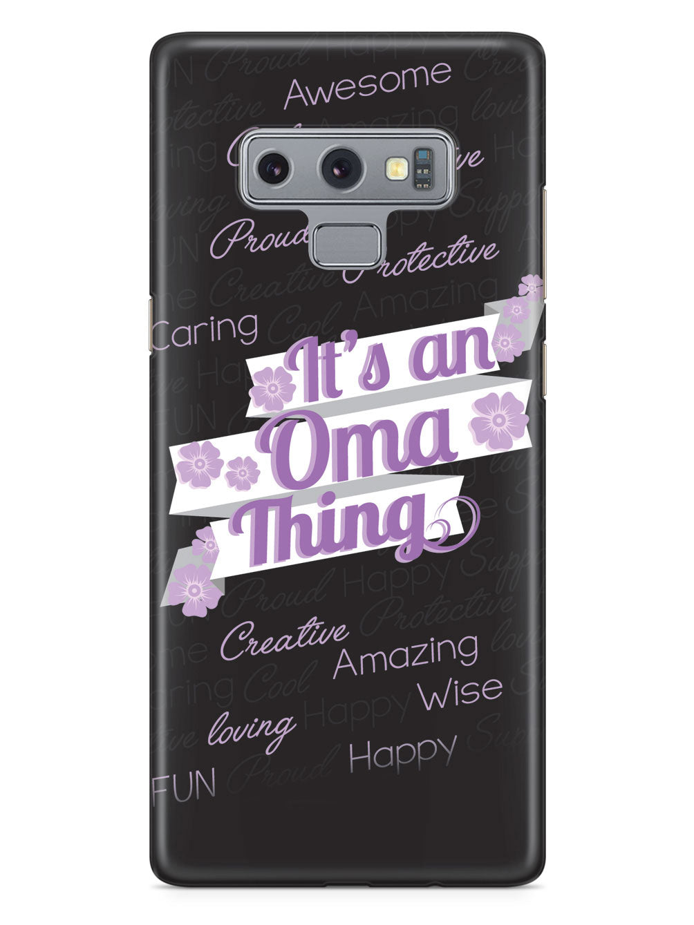 It's an Oma Thing (Purple) Case