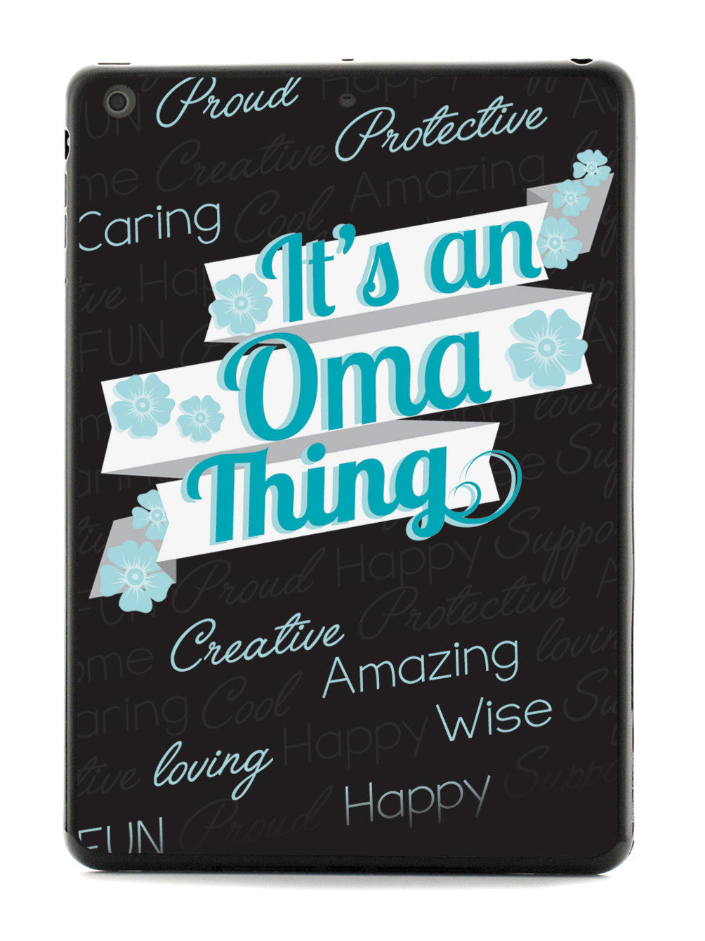 It's an Oma Thing (Blue) Case