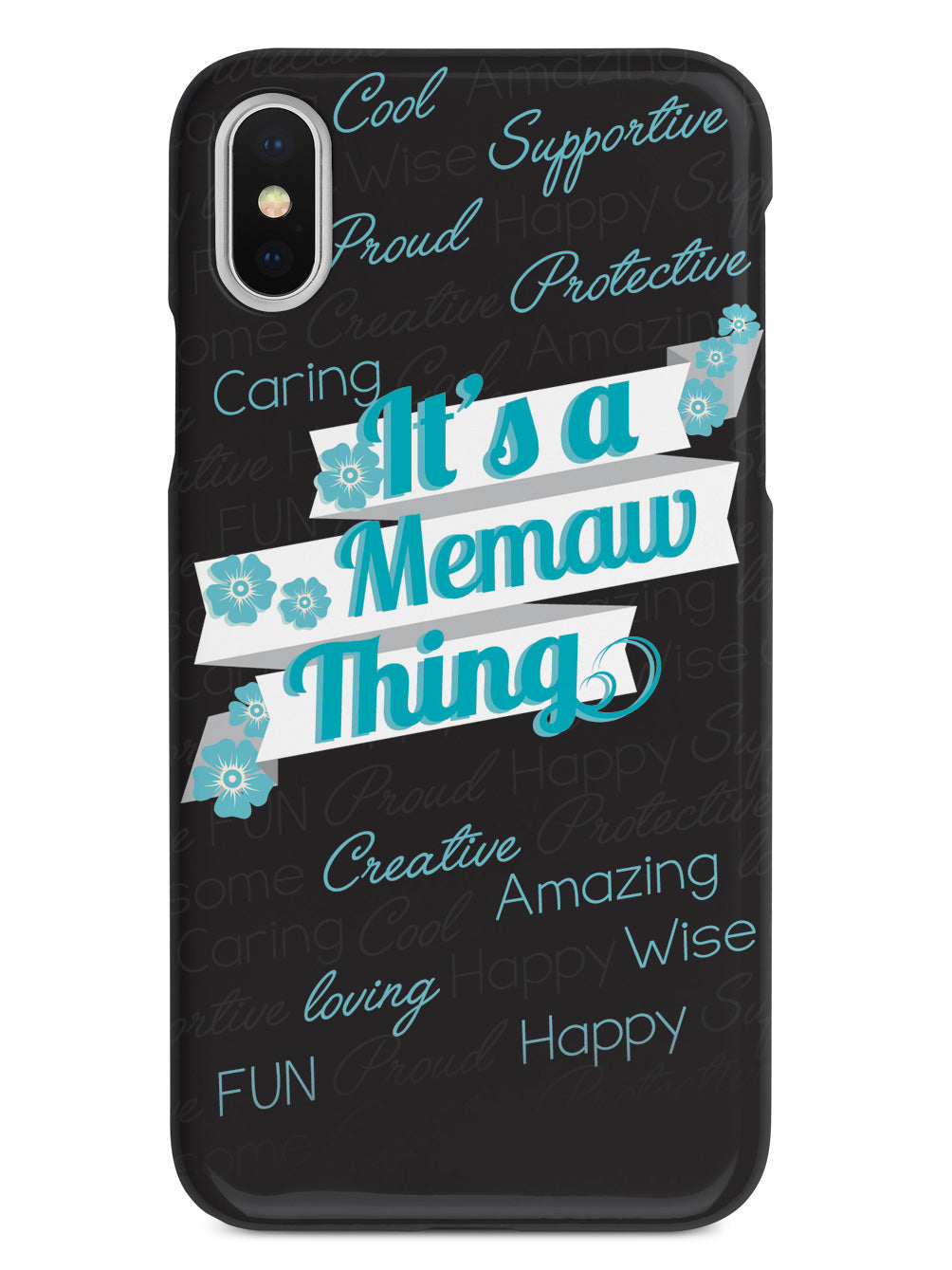It's a Memaw Thing (Blue) Case
