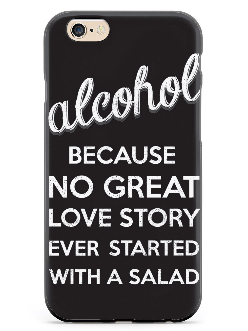 Alcohol - No Great Love Story Case