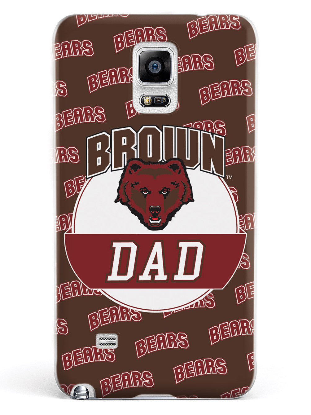 College Dad - Brown University Bears Case