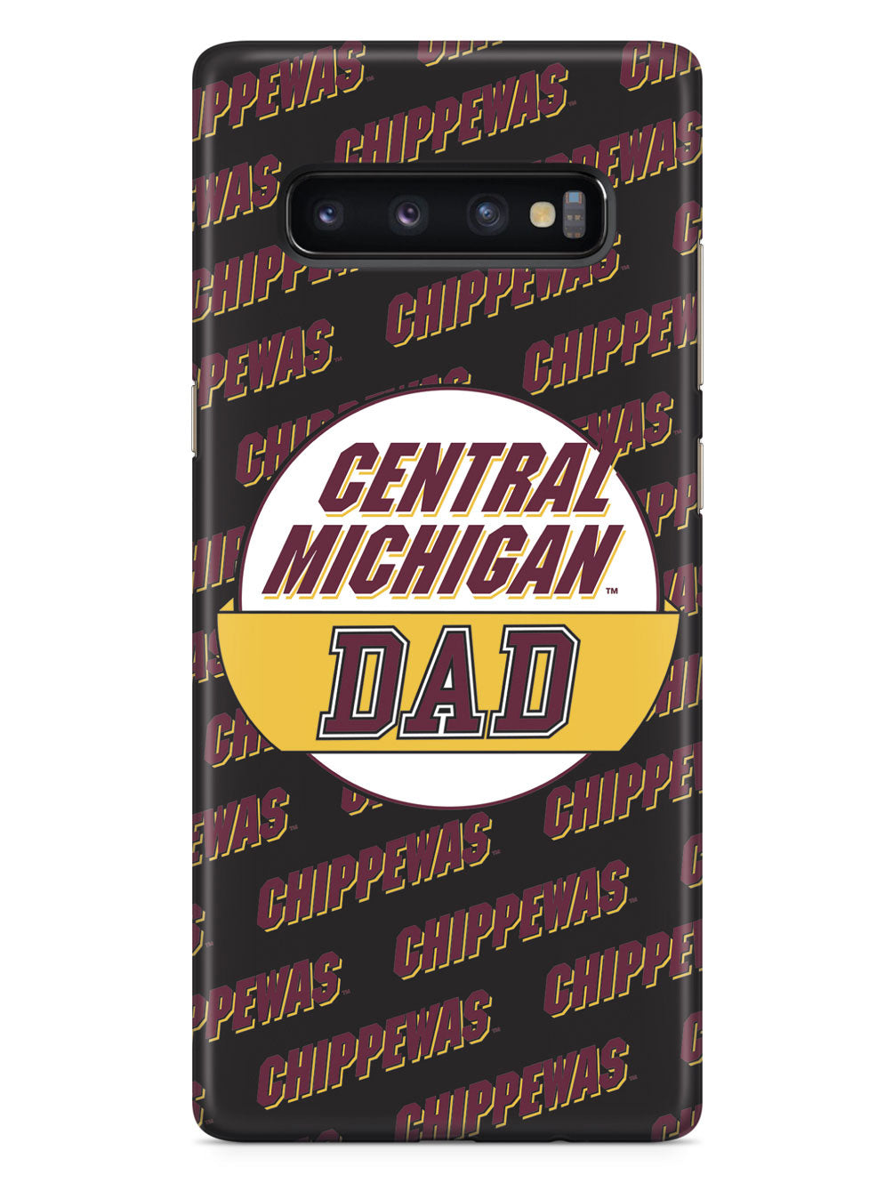 College Dad - Central Michigan Chippewas Case
