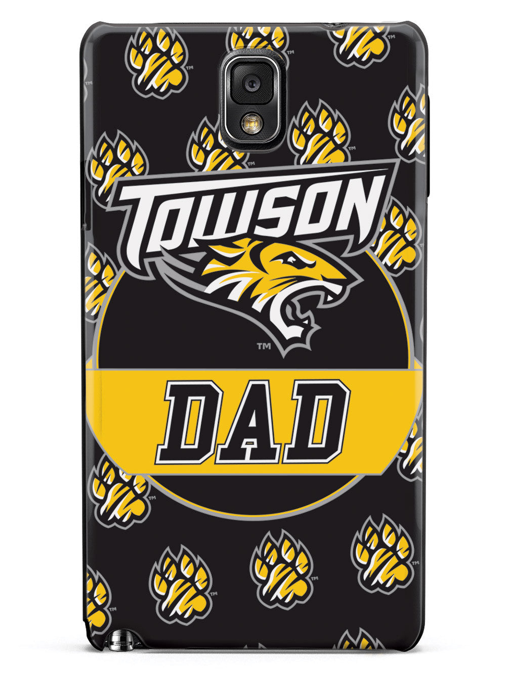 College Dad - Towson University Tigers Case