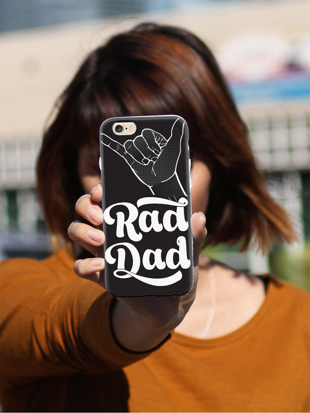 Rad Dad - Shaka Sign Case