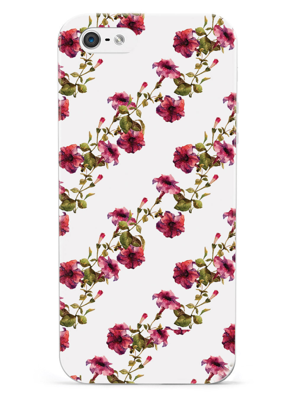 Pink Flower Vine Pattern Case