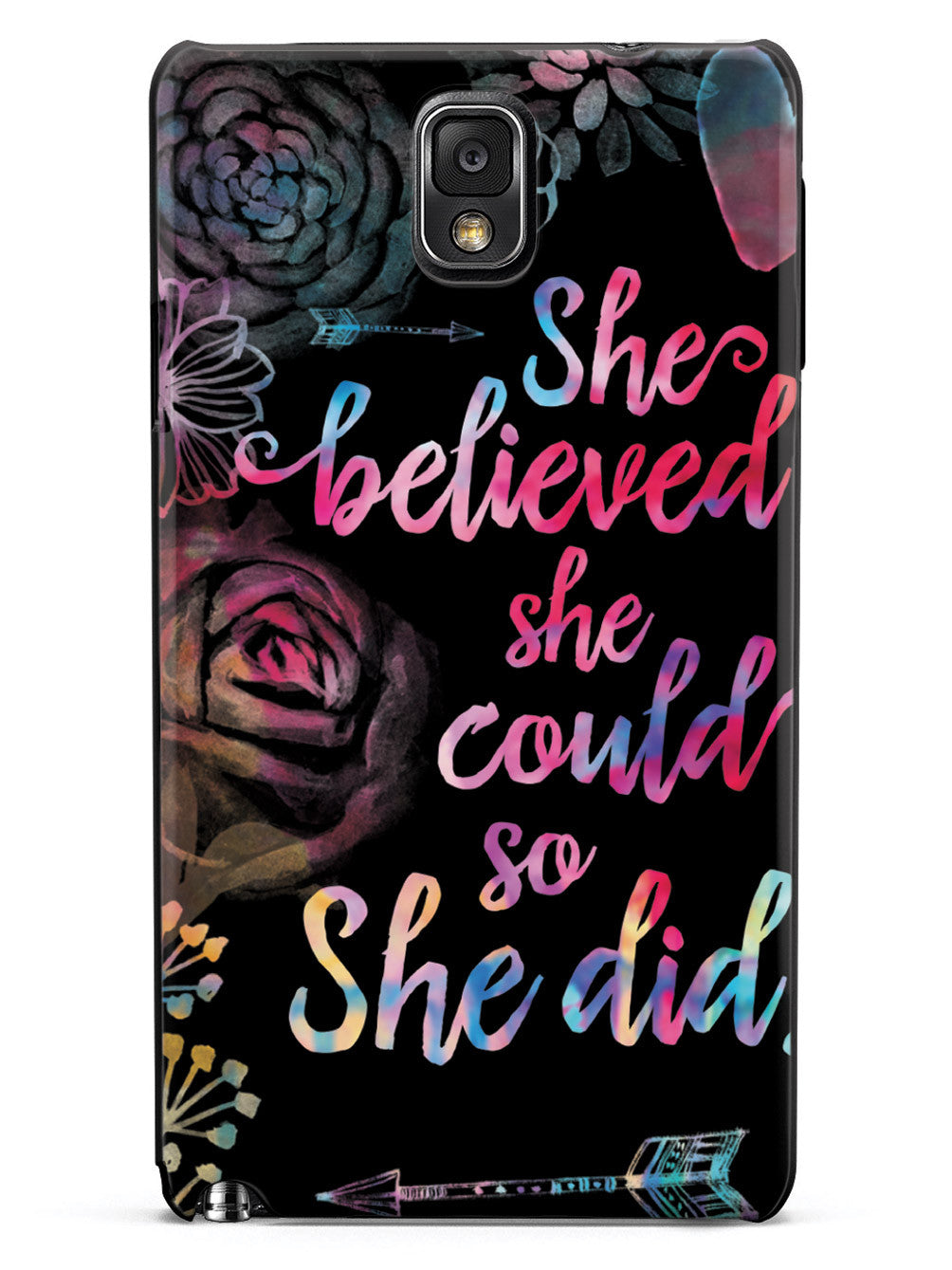 So She Did - Black Case