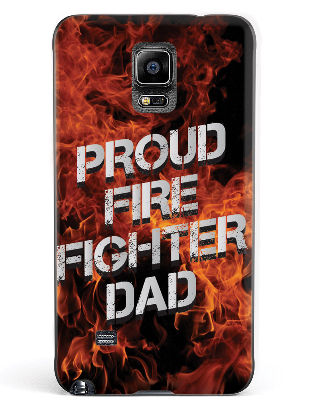 Proud Firefighter Dad - Flame Case