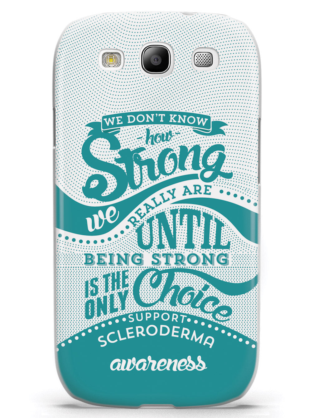 Scleroderma Awareness - How Strong Case