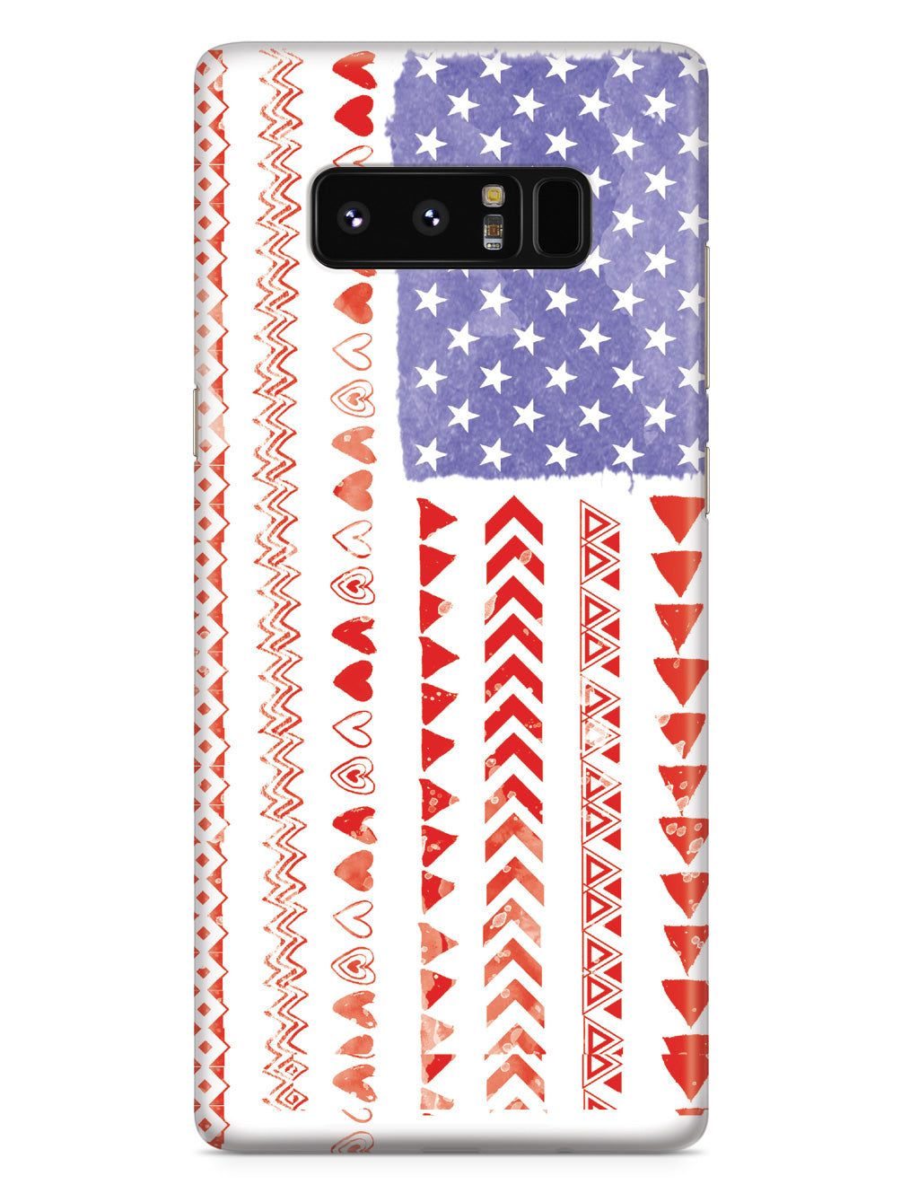 American Flag - Distressed Pattern Case