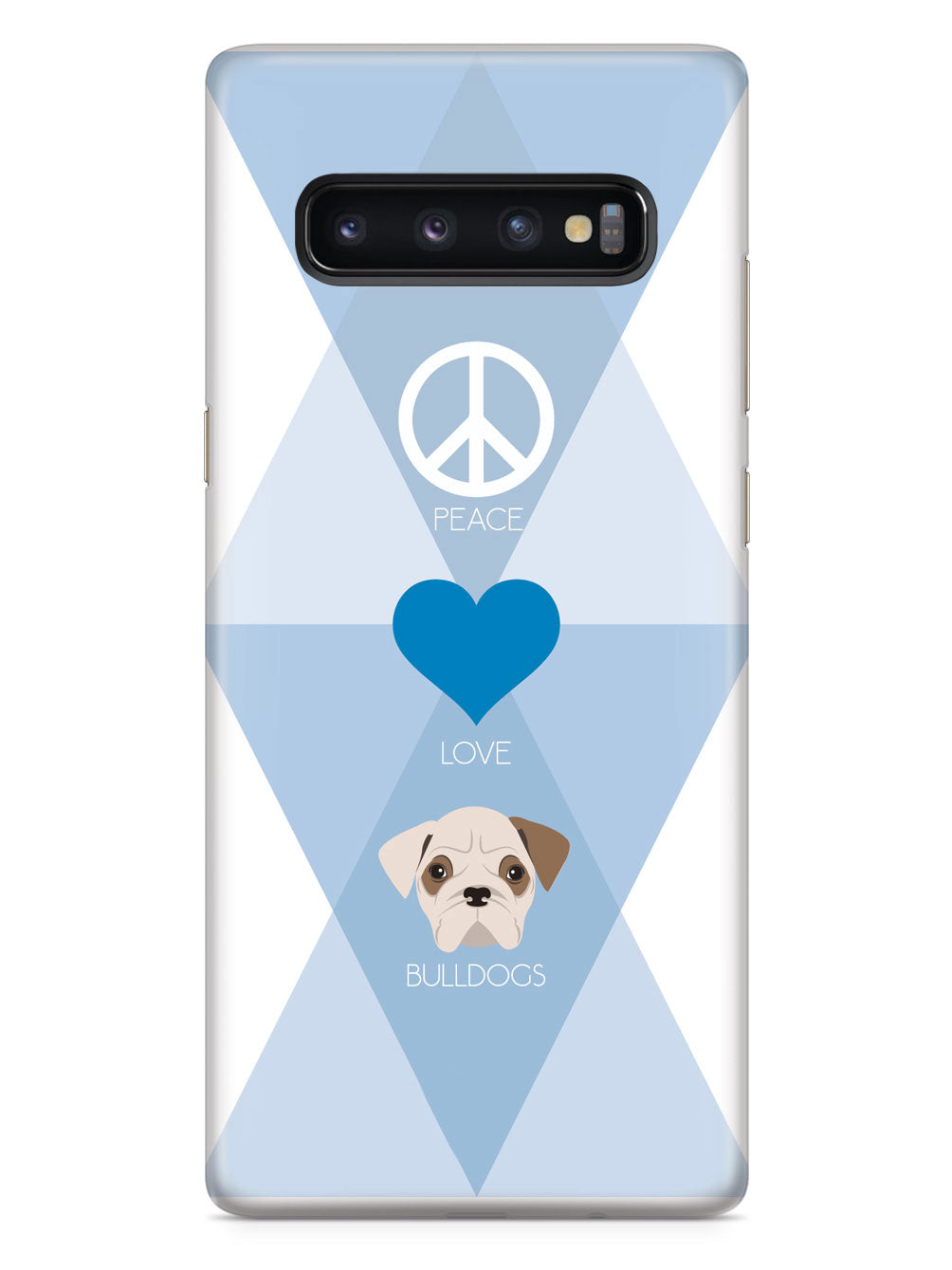 Peace, Love & Bulldogs Case