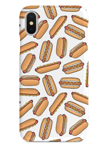 Hot Dog Pattern Case
