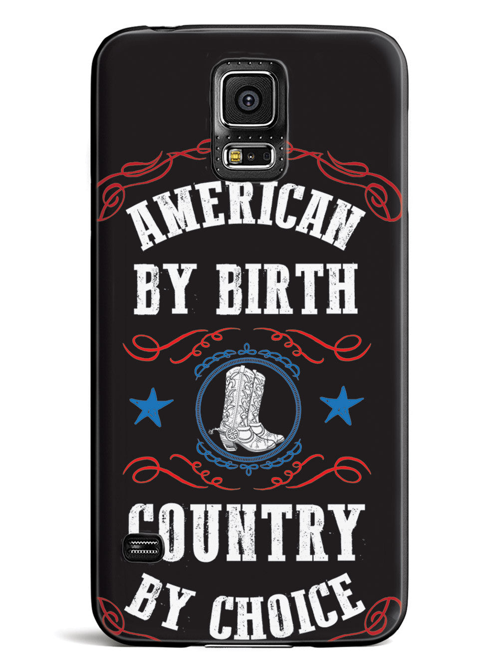 American By Birth, Country By Choice - Patriotic Case
