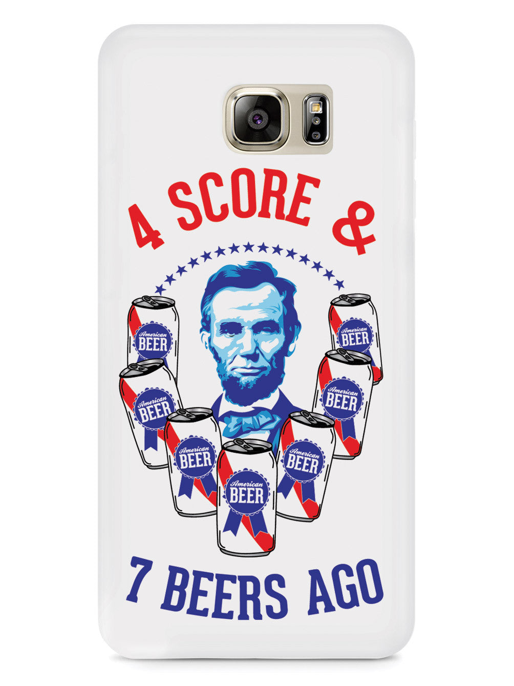 Four Score & 7 Beers Ago - Patriotic Case