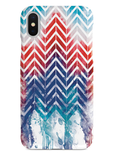 Dripping Patriotism Chevron - Patriotic Case