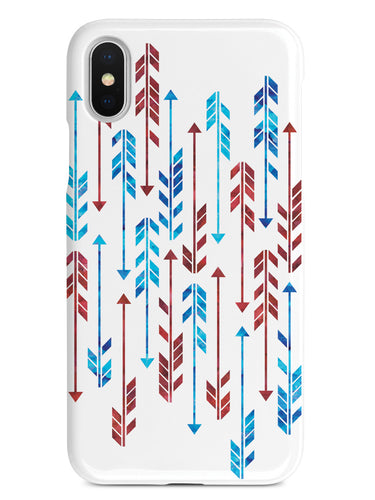 Patriotic Arrow Pattern Case