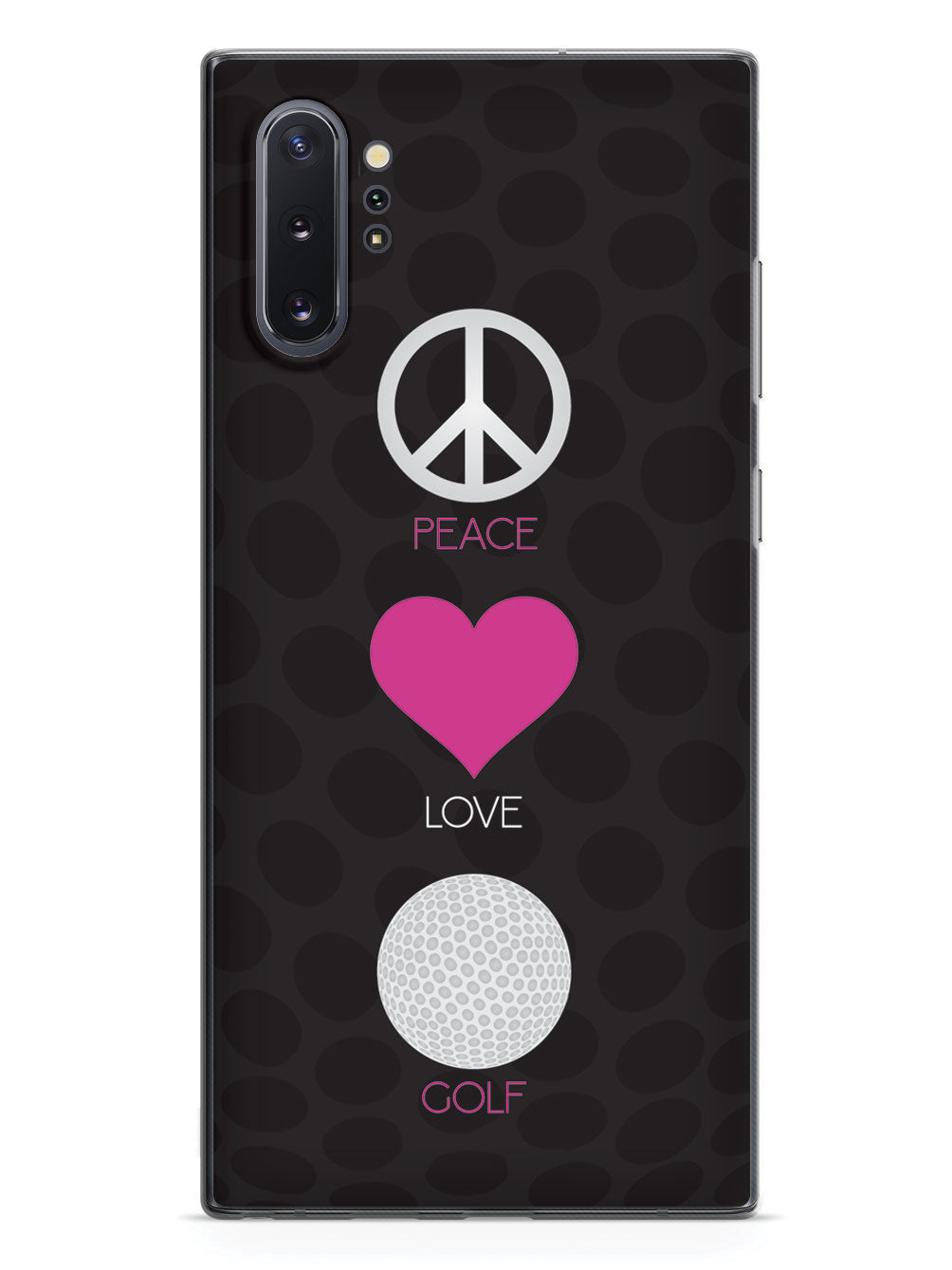 Peace, Love & Golf Case