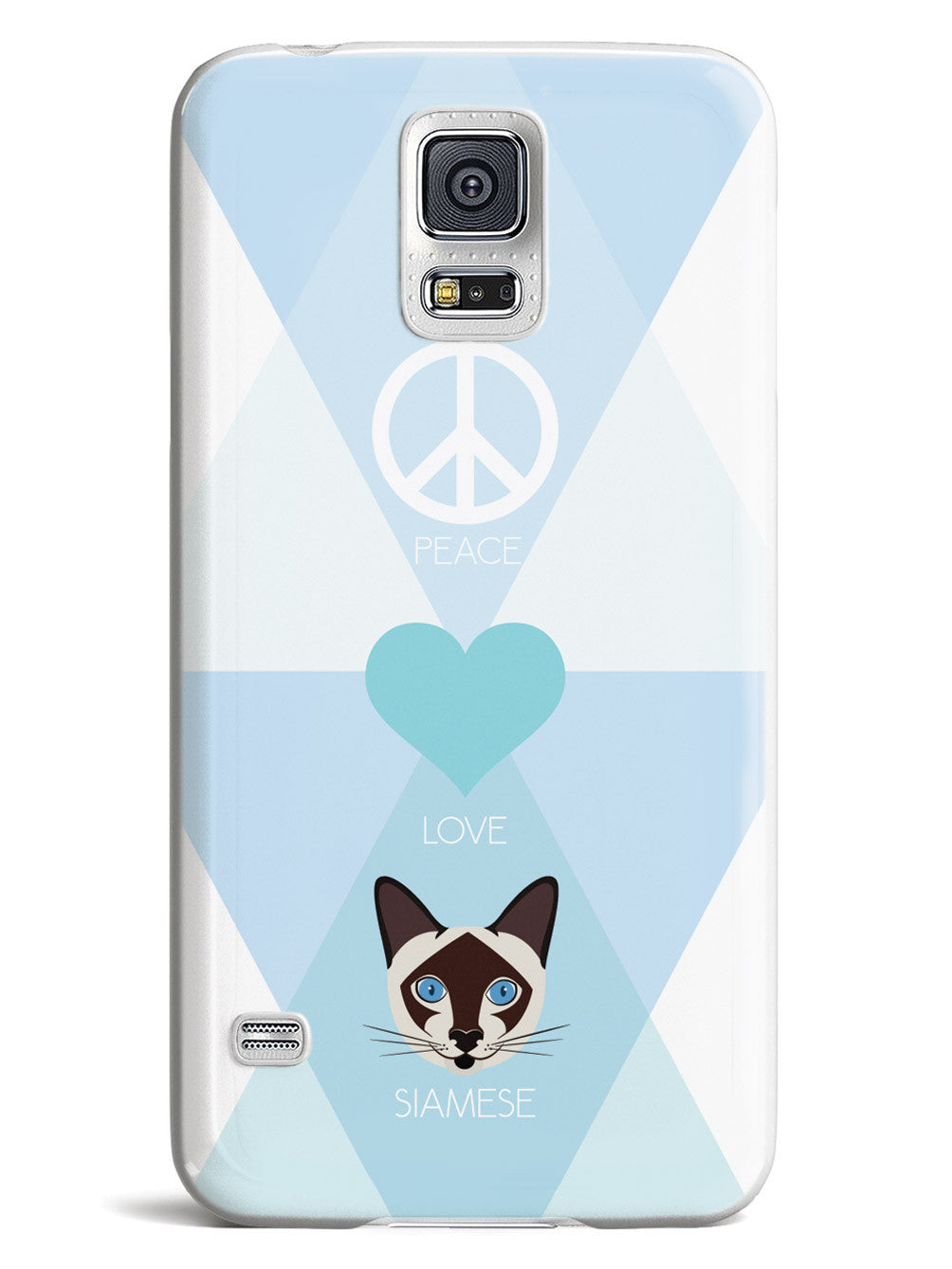 Peace, Love & Siamese Cats Case