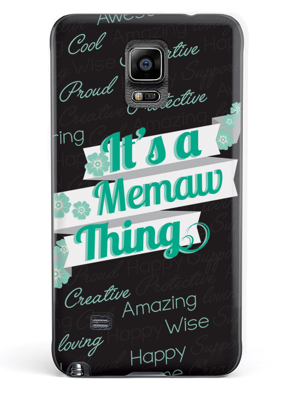 It's a Memaw Thing (Green) Case