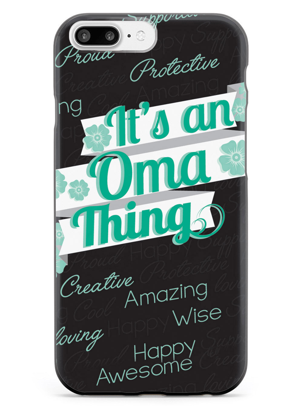 It's a Oma Thing (Green) Case